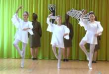 Карталинские школьники танцевали