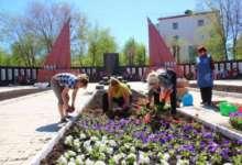 Монумент Славы в Карталах расцветает