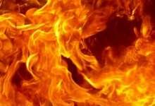 С жарой в Карталы вернулись пожары