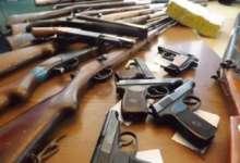 Южноуральцы сдают оружие