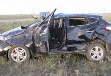 Карталинская семья попала в аварию