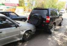В Карталах столкнулись два автомобиля