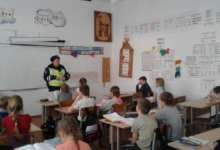 Карталинским школьникам напоминают о ПДД
