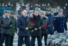Губернатор почтил память погибших защитников Родины
