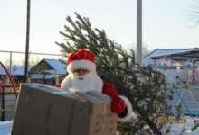 Карталинским дошколятам подарки привез Дед Мороз