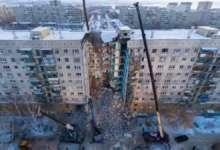 В Магнитогорске продолжается разбор разрушенного подъезда