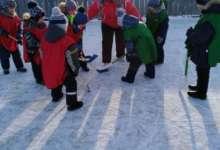 В хоккей играют в карталинских селах