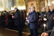В Магнитогорске провели литургию по погибшим