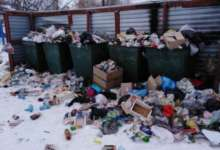 В Карталах в центре внимания - мусор