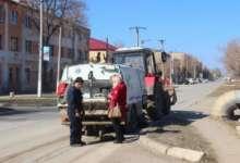 Карталинские коммунальщики наводят порядок