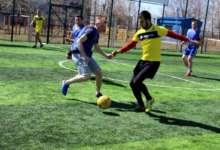 В Карталах сыграли в футбол