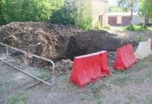 В Карталах произошел порыв на водопроводе