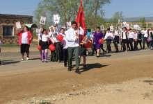 В карталинских селах отпраздновали День Победы