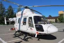 Пациента карталинской больницы доставили в Челябинск на вертолете