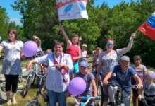В карталинском селе День России отметили велопробегом