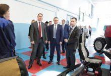 Сельское хозяйство области инспектирует федеральный министр