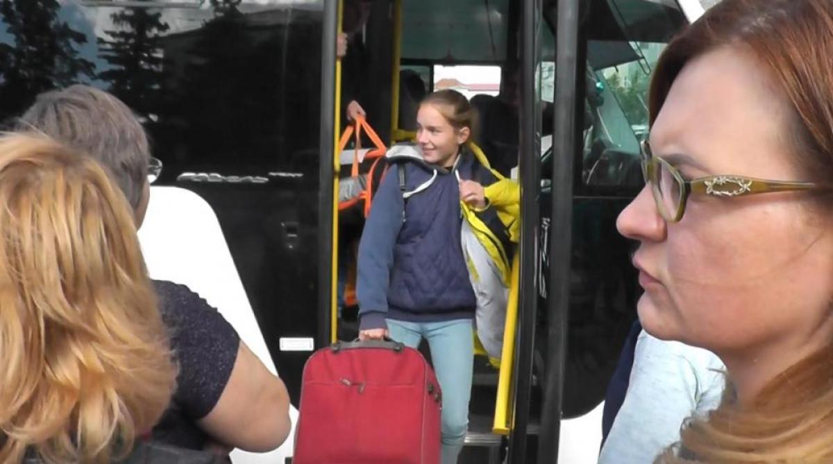 Карталинские школьники вернулись