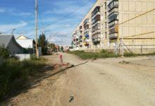 В Карталах по улице Жданова нужно ездить осторожно
