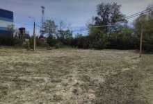 Волейбольную площадку облагородили