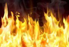В карталинском поселке горел жилой дом