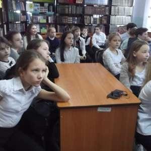 Школьникам рассказали об уникальных местах природы.