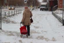 Карталинцы жалуются на скользкие тротуары