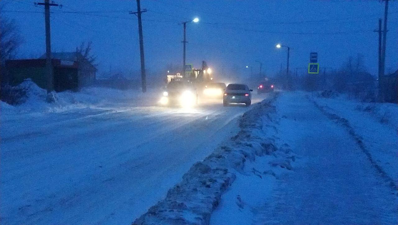 Карталинские водители пожаловались на перемет на дороге