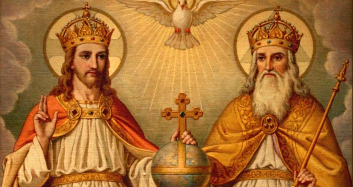 Карталинские верующие отмечают праздник Троицы
