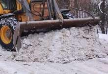 В поселениях снегопад пережили без больших ЧП