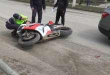 В Карталах женщина оказалась под колесами мотоцикла