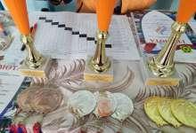 Сельские команды в теннисе соревновались