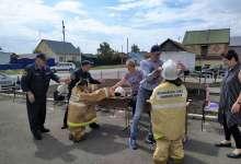 Пожарные провели урок безопасности