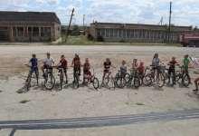 В карталинском селе устроили гонки на велосипедах