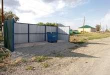 В карталинском поселке контейнерную площадку оборудовали