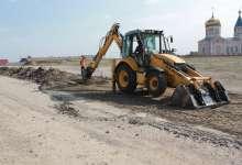 В Великопетровке начали строить дорогу