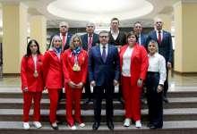 Южноуральских спортсменов наградили